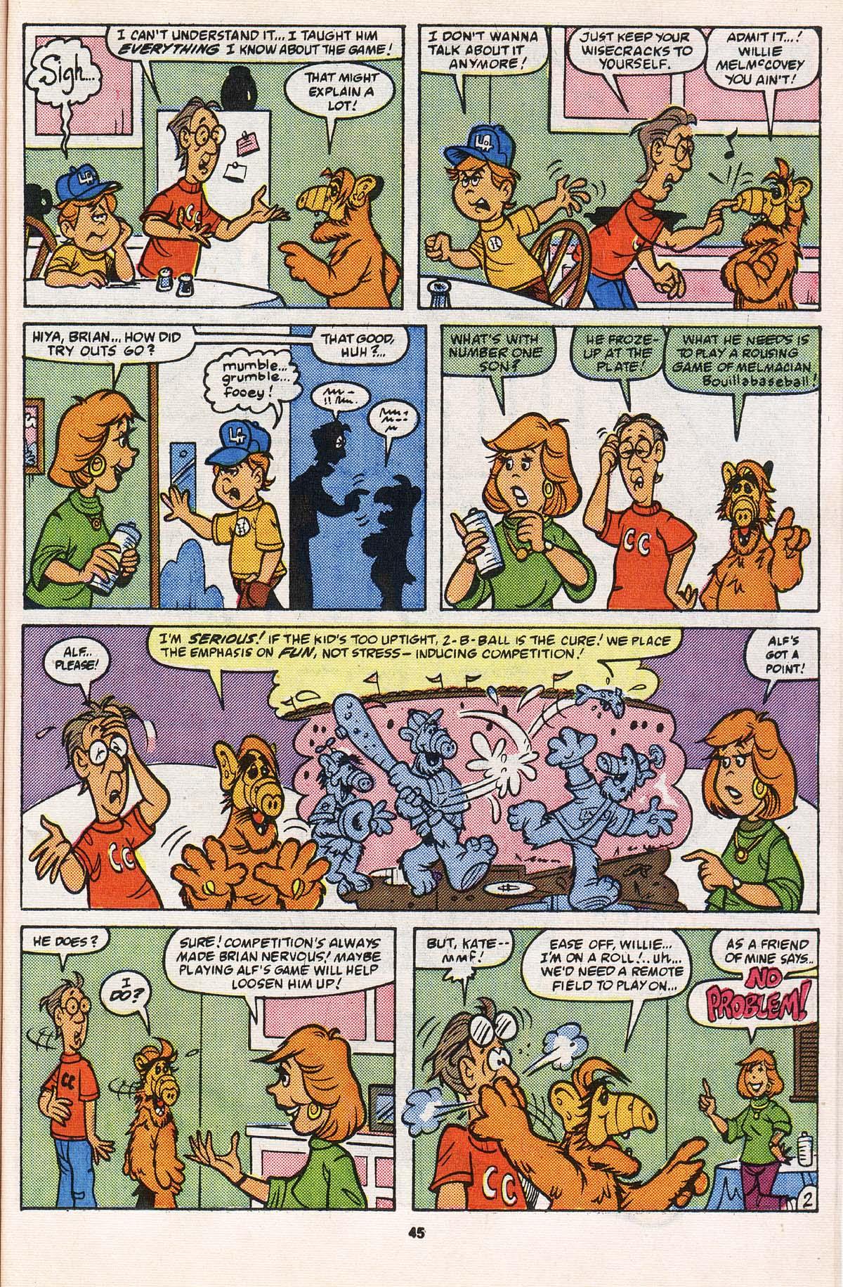 Read online ALF comic -  Issue # _Annual 2 - 42