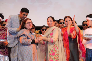 """सतयुग दर्शन संगीत कला केंद्र चंडीगढ़  द्वारा """"स्वरांजली 2018"""" सांस्कृतिक कार्यक्रम का भव्य आयोजन"""