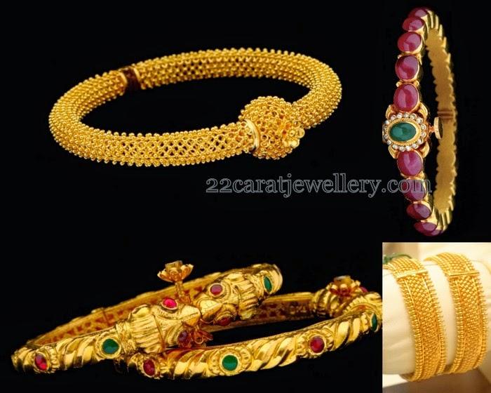 Gold Bangles In Latest Design Jewellery Designs