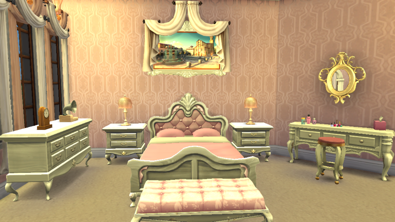 Sims 4 Bedroom,Sims 4 Royal Bedroom
