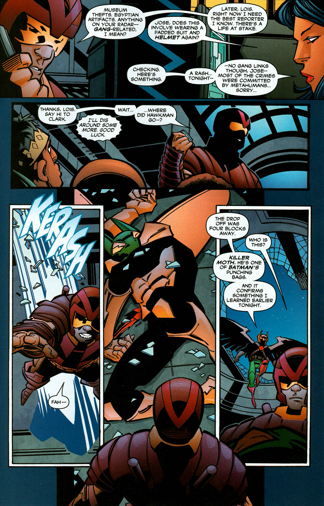 Read online Trinity (2008) comic -  Issue #6 - 29
