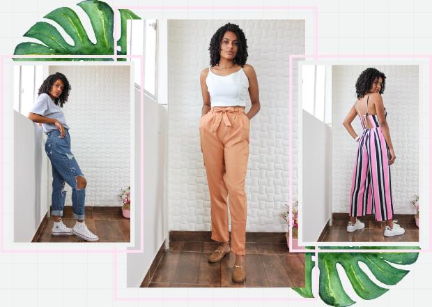 Amiclubwear, Yoins, Como usar calça mom jeans, como usar calça de alfaiataria, como usar calça cenoura, como usar calça clochard, como usar macacão, look com calça mom jeans, look com calça de alfaiataria, look com macacão