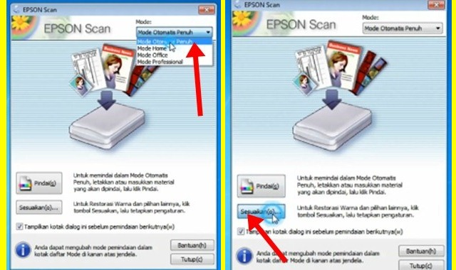 Cara Scan Dokumen Di Printer Epson L360