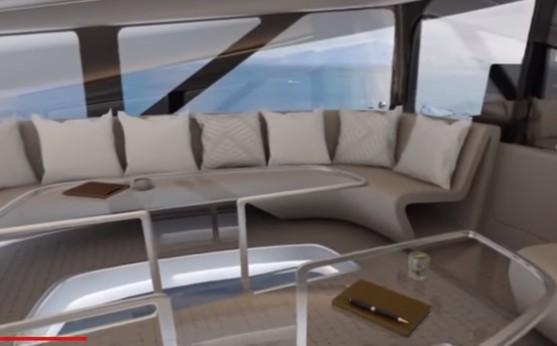 Ο κόσμος κάτω απ'τα πόδια σας: Ένα πολυτελές αερόπλοιο με γυάλινο δάπεδο και ανεμπόδιστη θέα