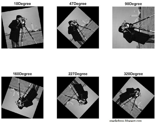 Image Rotation in MATLAB - Examples without imrotate function – Part 2 | IMAGE PROCESSING