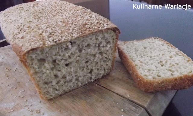 chleb z płatkami i sezamem