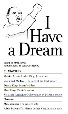 "Free ""I Have a Dream"" play for kids, from Scholastic"