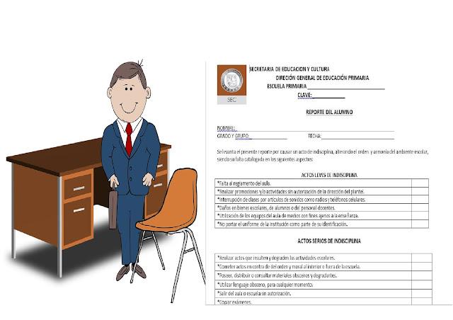 disciplina,primaria,secundaria,formato,reporte