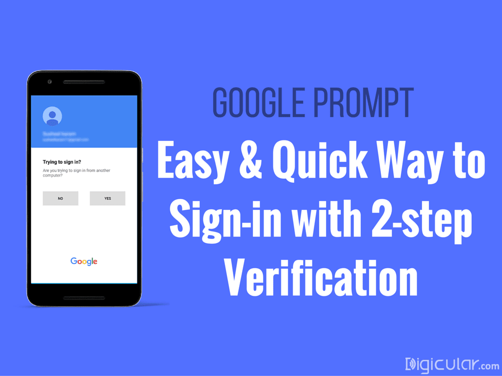 Google prompt easy way to use google 2 step verification