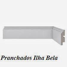 Rodapé de Poliestireno Santa Luzia 463 Branco