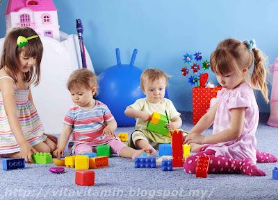 Permainan Blok Yang Membantu Merangsang Perkembangan Kanak-kanak