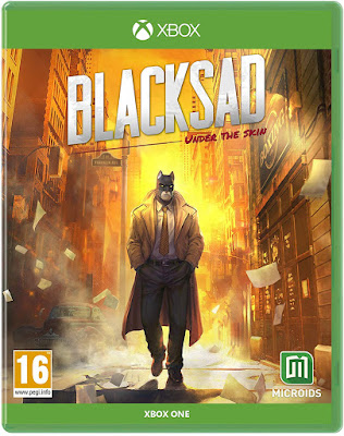 Blacksad Under The Skin Game Cover Xbox One
