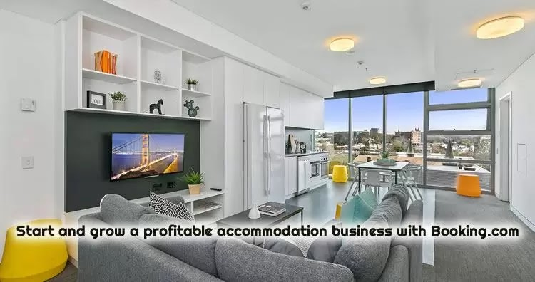 Start and grow a profitable accommodation business with Booking.com