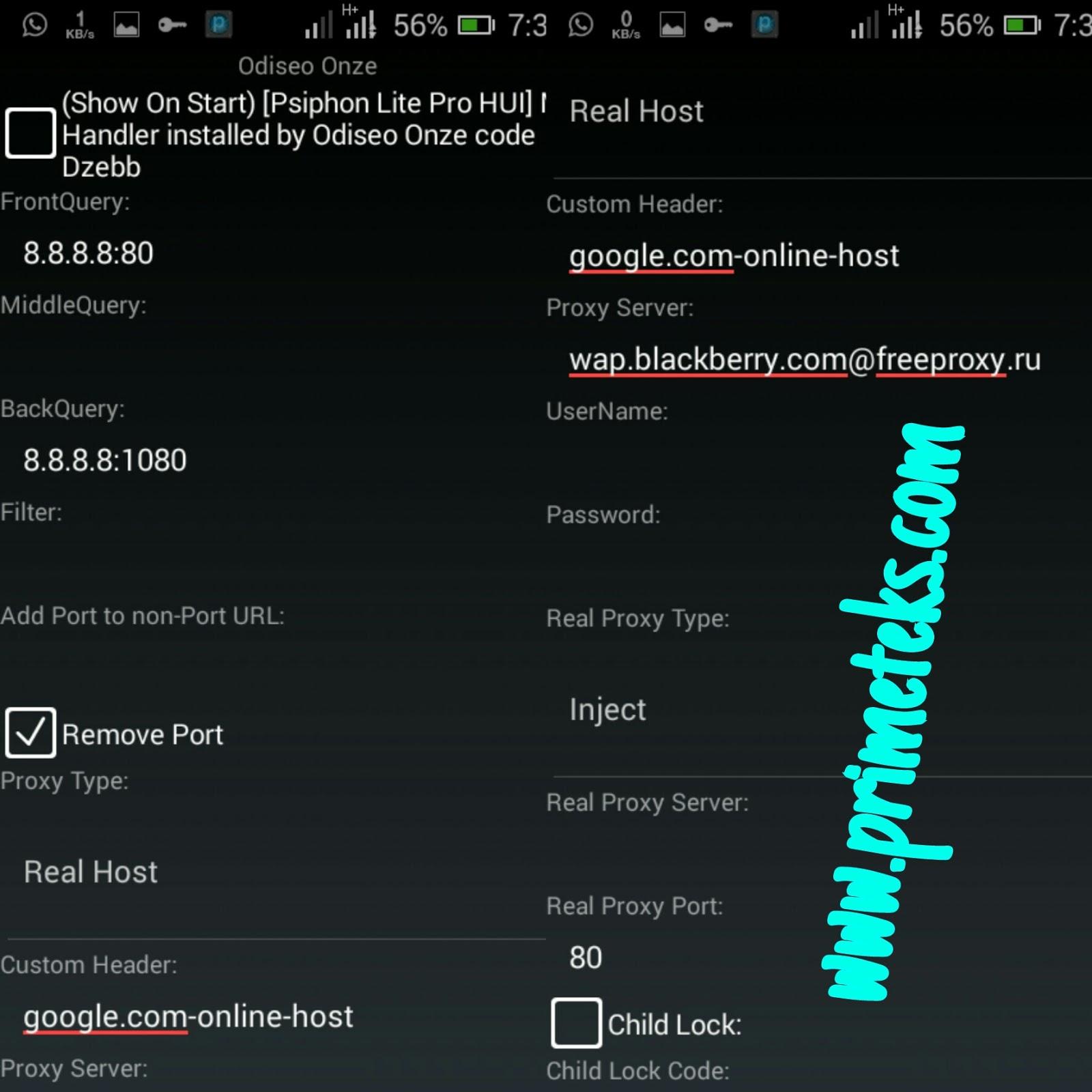 hide proxy list
