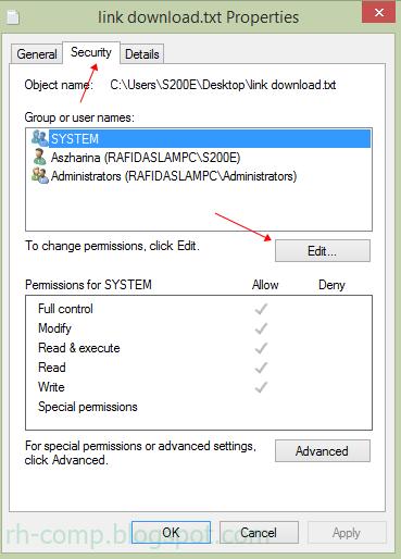Cara Memproteksi File Agar Tidak Bisa Dibuka