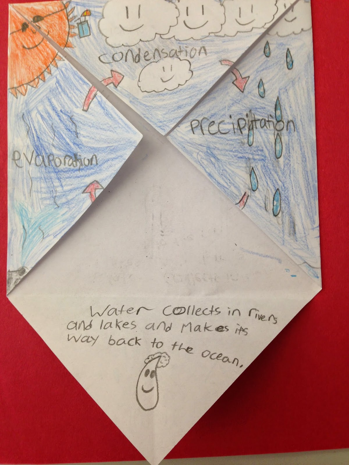 One Teacher S Adventures Water Cycle Foldable