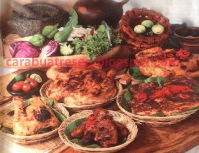 Foto Resep Aneka Ayam Bakar Tradisional Klasik Sederhana Spesial Asli Enak