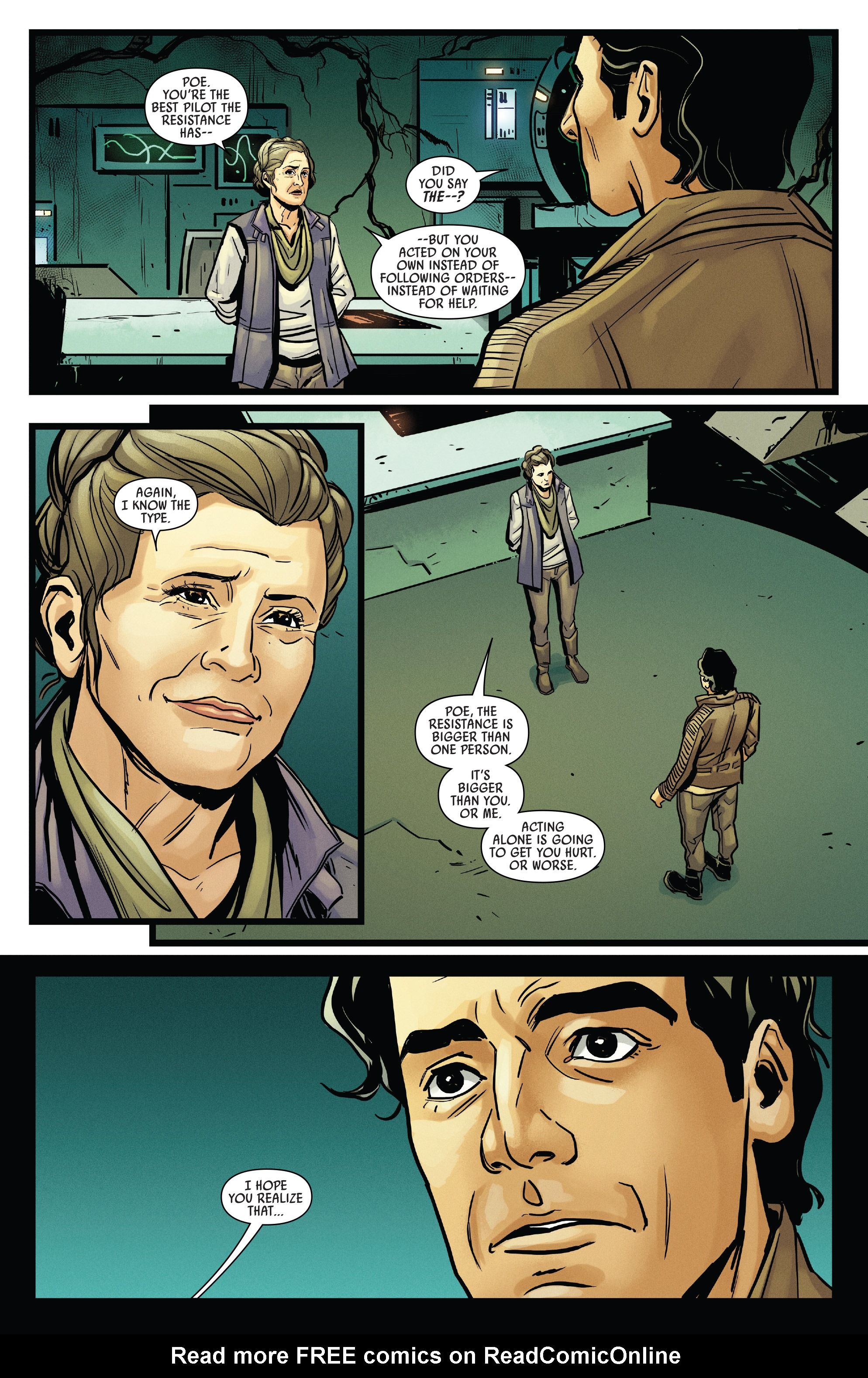 Read online Star Wars: Poe Dameron comic -  Issue # _Annual 1 - 17