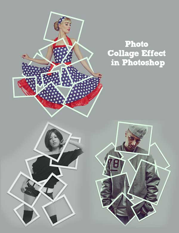 How to Turn a Picture into a Photo Collage Effect in Photoshop