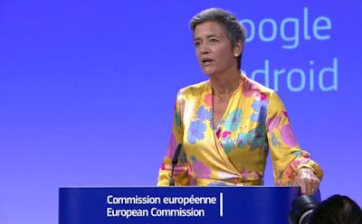 Europe has fined Google $5 billion