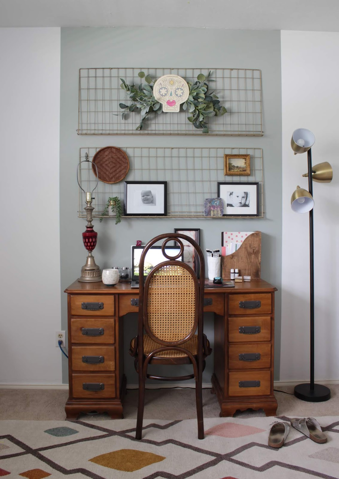 Dia de los Muertos Door Decor | House Homemade