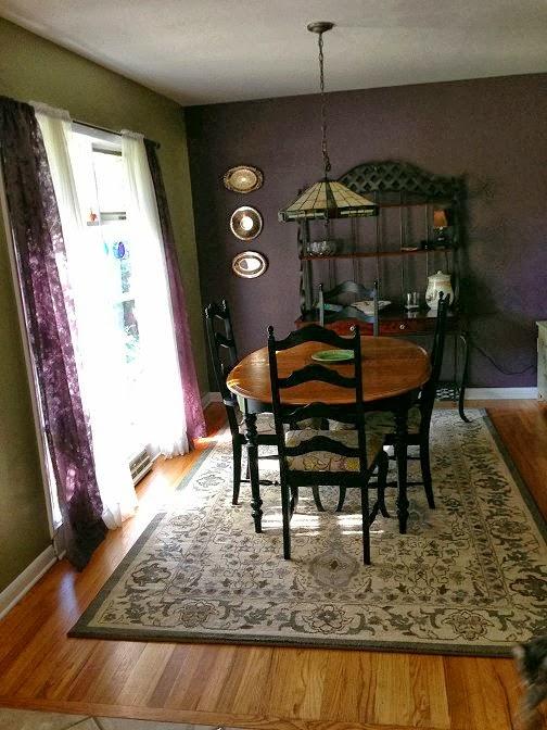 Dishfunctional Designs My Plum  Sage Dining Room
