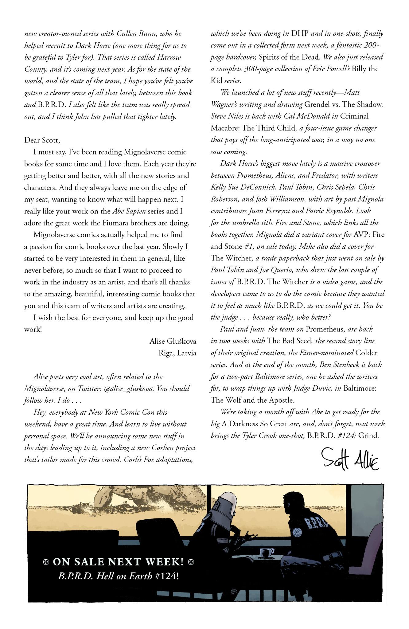 Read online Abe Sapien comic -  Issue #17 - 26