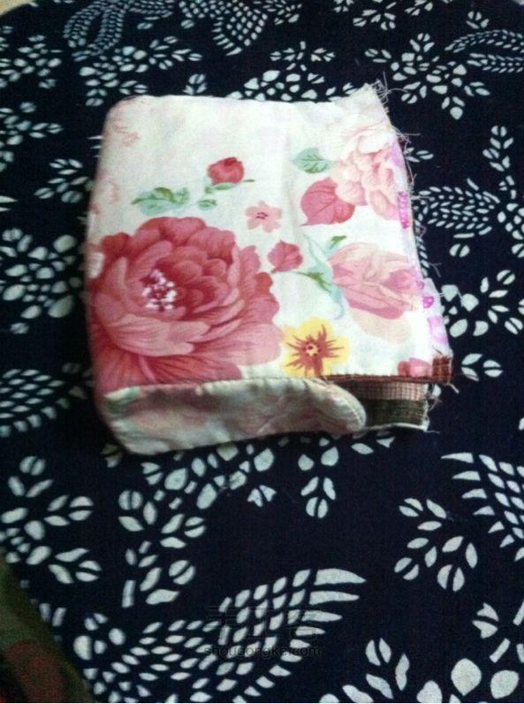 "Storage bag ""Little House"".  Patchwork сумочка для хранения"