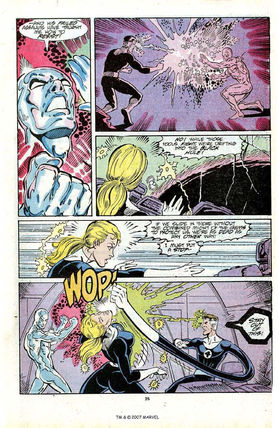 Read online Silver Surfer (1987) comic -  Issue #16 - 27