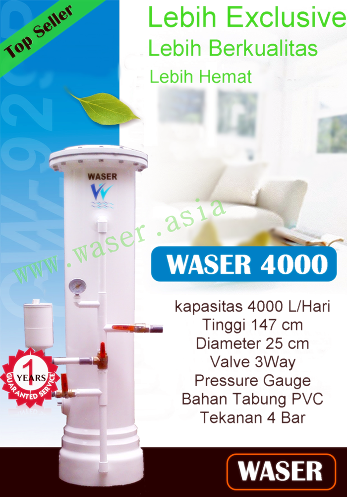 Harga Filter Air Wasser 4000