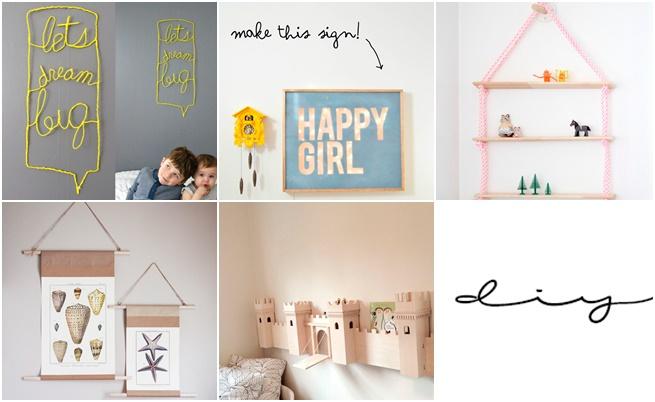 5 Diy para decorar con los más peques de la casa