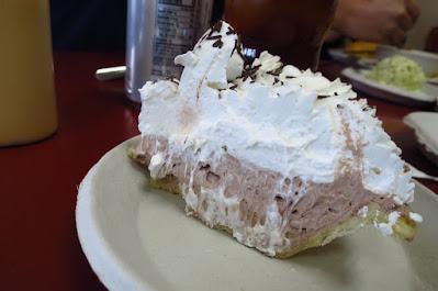 Los Angeles, Philippe the Original, chocolate cream pie