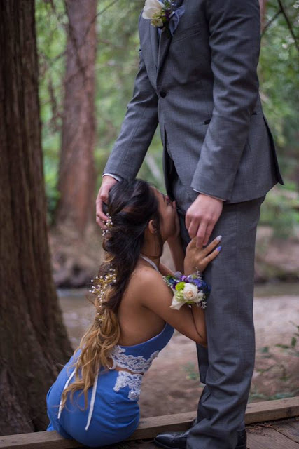 This Couple Decided To Make These Poses In Front Of The Photographer For Their Wedding Photos! What An Unbelievable Couple!