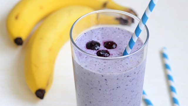 Weight Watchers Blueberry Banana Smoothie
