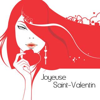 Carte de voeux 2017 pour la Saint-Valentin