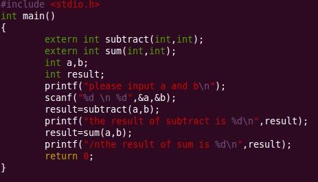 ATLAB: C語言當中的 extern 實例