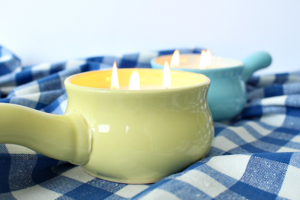Easy Poured Soy Candles