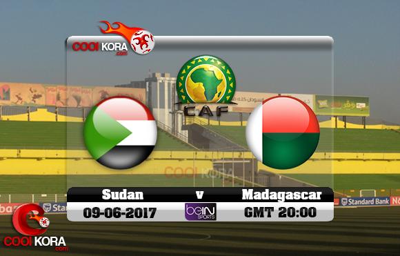 مشاهدة مباراة السودان ومدغشقر اليوم 9-6-2017 تصفيات كأس أمم أفريقيا