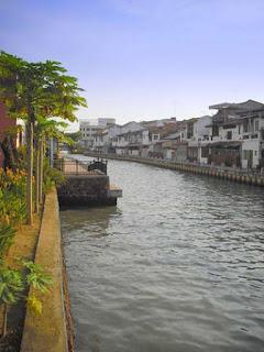 Flußfahrt auf dem Melaka River