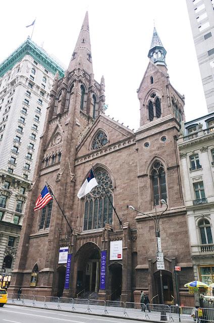 フィフス・アヴェニュー長老派教会(Fifth Avenue Presbyterian Church)