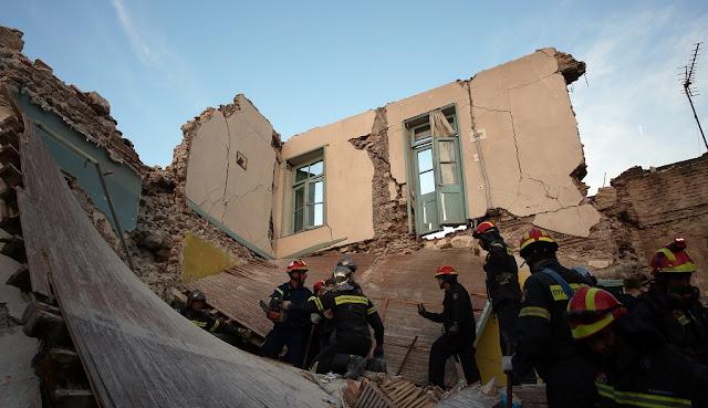 Ολική η καταστροφή στη Βρίσα Λέσβου - Στο 75% οι καταστροφές των σπιτιών