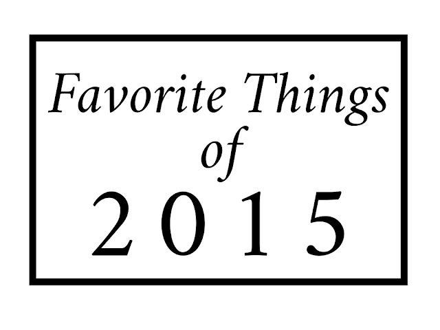 Favorite Things Of 2015 || Blogmas