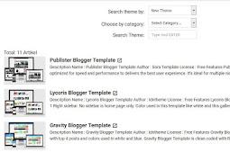 Cara Membuat Sitemap Keren Berdasarkan Label ala Blog AMP
