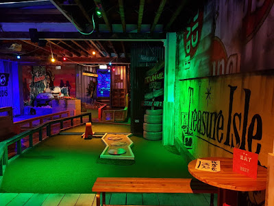Crazy Golf at Roxy Ball Room on Deansgate