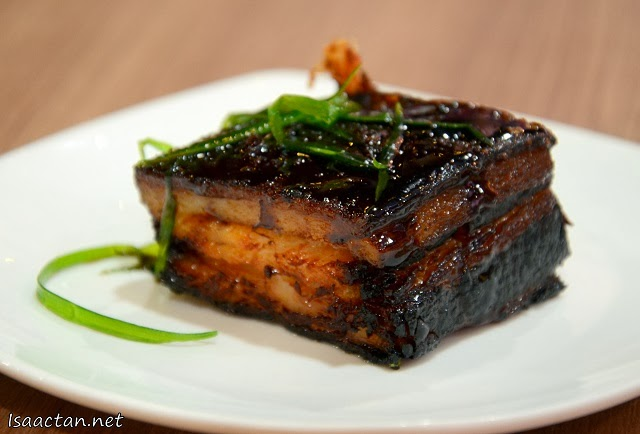 One portion of the Braised Pork Belly, and it should be enough to fill your fats quota for the week