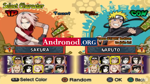 Naruto Shippuden Ultimate Ninja 5 ISO/CSO PPSSPP Android