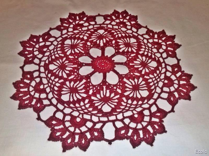 Centrinhos de Mesa  Toalhinhas em Crochê com Gráfico - Katia Ribeiro ... fa513eda62e