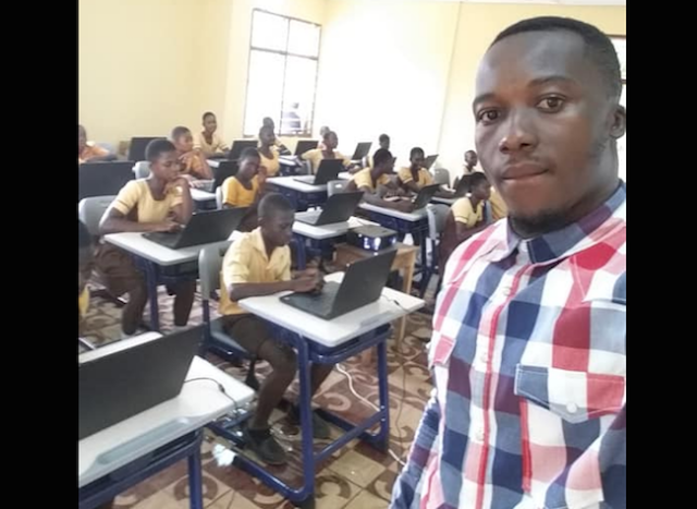 Image result for Microsoft donate dozens of computers to Ghana school that went viral