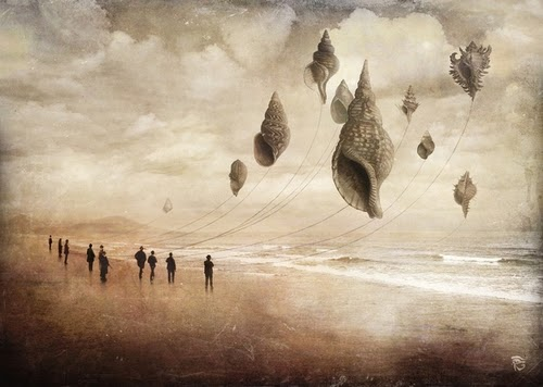 17-Floating-Giants-Christian-Schloevery-Surreal-Paintings-Balance-of-Mind-and-Heart-www-designstack-co