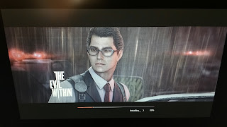 Loading Screen for The Evil Within.